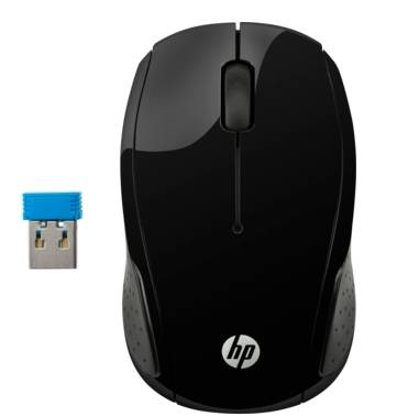 X6W31AA HP 200 Black Wireless Mouse