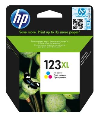 CT-H123XLC HP F6V18AE ( no.123XL ) Color ink cartridge, 330pages, for hp deskjet 2130 series