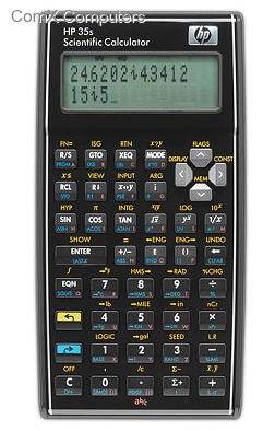PRHPHP35S HP 35s Scientific Calculator (ALG/RPN)