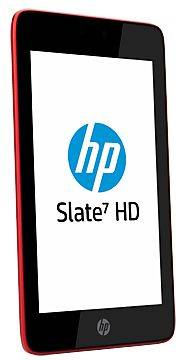 "F5K03EA HP Slate 7 HD Tablet ARM Dual Cortex PXA986 1.20Ghz 1GB 16GB 7"" WXGA BT 3G Android"